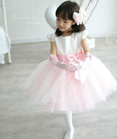 Hot Sale Fashion Fancy Wedding Baby Girl 100% Polyester Dress Prices