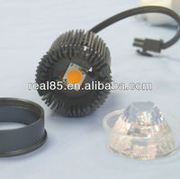 COB MR16 LED downlight,12W, 670~780 lumen,2700/3000/4000/5000K, diameter 50mm, 50W halogen equivalent, external LED driver