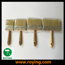 ROYING manufactory paint wall natural bristle large surface flat brushes with handle