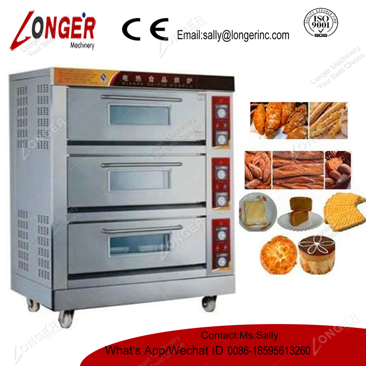 Far Infrared Electric/Gas Oven Bakery Machine