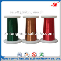 China Manufacturing Polyamide-imide Enameled Copper Winding Wire 0.05 mm