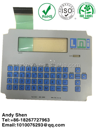 laptop membrane switch laptop membrane keypad computer membrane keyboard
