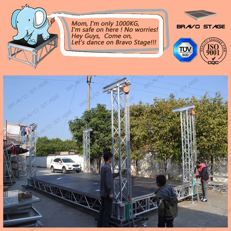 Aluminum Stage Collapsable Platform