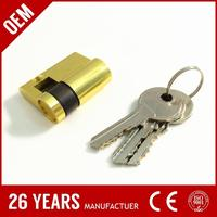 electronic general anti-theft card lock cylinder. door lock cylinder with timer and detecting. motorcycle lock cylinder 2 keys
