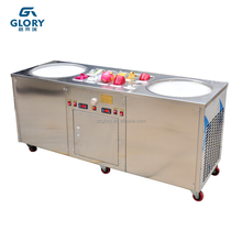 popular mexico fried ice cream machine/thailand fried ice cream roll machine