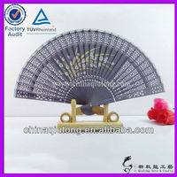 Lady's Wooden Products Sandalwood Fans Wedding &Parties