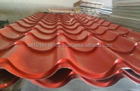 Colored Roof Tile Sheets UAE QATAR OMAN BAHRAIN SAUDI ARABIA