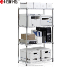 China famous manufacturer NSF chrome plated 4-tier storage wire shelving unit