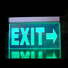 guangzhou safety sign , emergency led sign , exit sign board