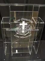 Custom/Factory Direct Sale of Acrylic Podium