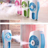 Fashionable USB mini handheld water spray fan,outdoor water misting fan