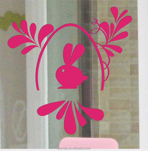 High quality vinly static window decals/stickers window clings