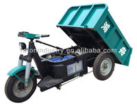 HZ800DCY-10C e battery operated brick kiln tricycle
