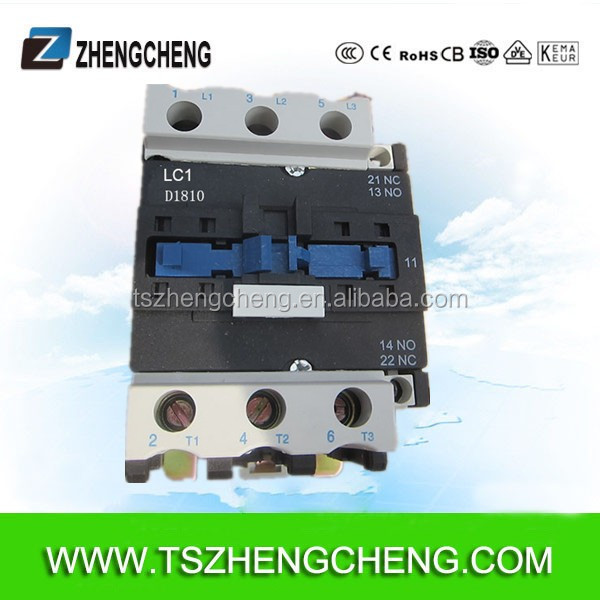 D1810 ac magnetic telemechanic tc contactor 380V LC1