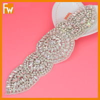 New arrival fashionable rhinestone crystal appliques for garment dress