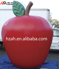 Giant Inflatable Red Apple Balloon for Advertising Decoration