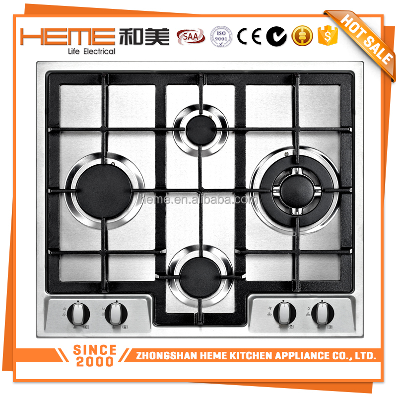 2017 New model energy saving blue flame 60cm cheap gas stove/gas cooker