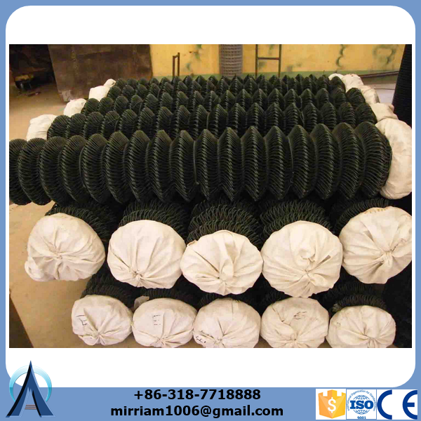 used 6 foot <strong>black</strong> pvc chain fence panels for sale factory