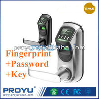 Best OLED door entry keyless fingerprint sensor lock L7000