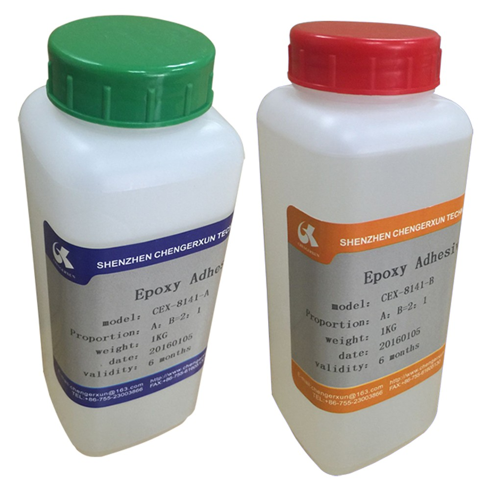 damp heat resistance weather resistance two components epoxy resin adhesive glue