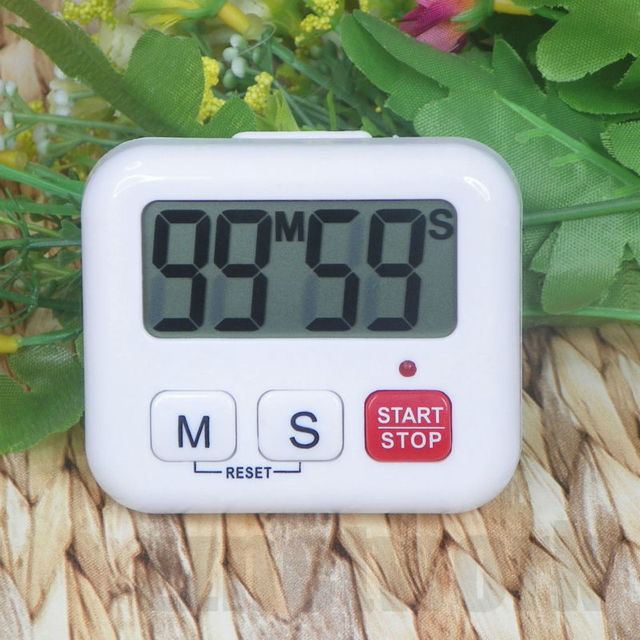 Kitchen Clock Timer Cooking 99 Minute Digital LCD Sport Countdown Calculator