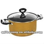 large houshold cast iron non-stick sauce pan
