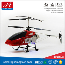 aerial photography outdoor flying toy powerful big rc helicopter 6ch with camera gyro BR6508