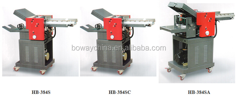 384S High-speed 4 folded plate 0-22000 sheets/hour (A4) paper Fold Machine