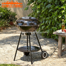 Wholesale Outdoor Garden Camping Top Round Steel Window grill Design Kettle Round Charcoal BBQ barbecue grill with wheels