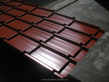Galvanised &galvalume with colour coat Surface Treatment and G3,AS,ASTM,JIS,IS Standard galvanised & galvalume roofing sheet