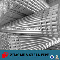galvanized steel pipe/tube for hot water