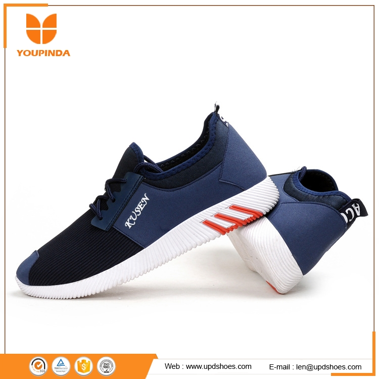 Mesh british style light PVA outsole athleisure shoes for men