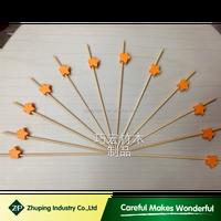 ZHUPING customized decorative fruit toothpicks in China
