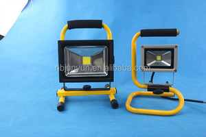 outdoor portable led flood light rechargeable camping 10w 20w 30w 50w