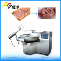 Automatic SUS304 meat processing machine bowl cutter meat bowl chopper