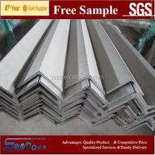 Hot sales&free sample stainless steel AISI201 angle bar factory price