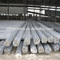 ASTM A615 Grade 60 deformed steel rebar, thread iron rod for construction