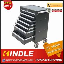 Kindle 31 years experience roller Customized tin box for tool with drawers