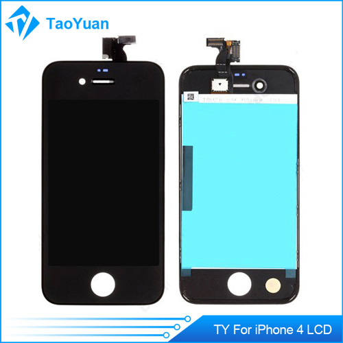 mobile phone touch screen for iphone 4S LCD+touchpad complete black
