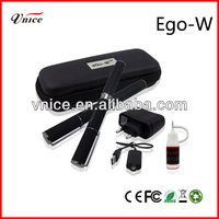 2013 Top selling Electronic cigarette pen style ego w with colorful ego pattern battery
