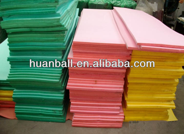 1000kg/M3 polyethylene PE LDPE foam block/sheet