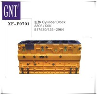 excavator cylinder block for 3306 S6K engine