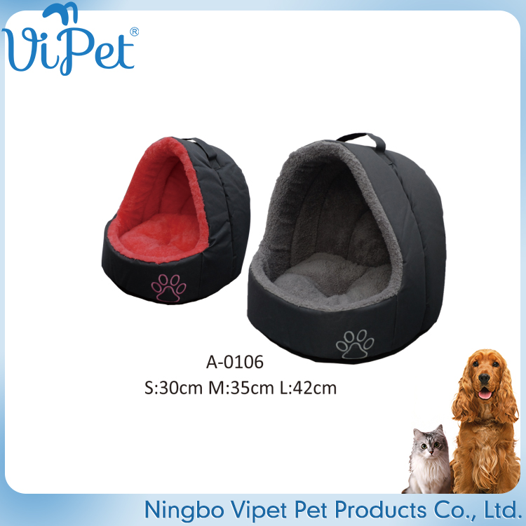 Cute And Warm Insulated Dog Bed Design