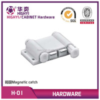 plastic magnetic door catch for cabinet furniture kitchen