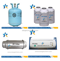 Refillable cylinder R134a Gas