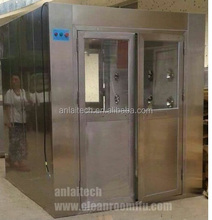 Air shower Injection clean room Air Shower with filters HEPA