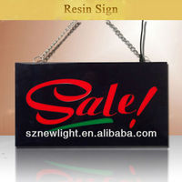 LED display board portable semi outdoor led sign color changeable programmable led sign