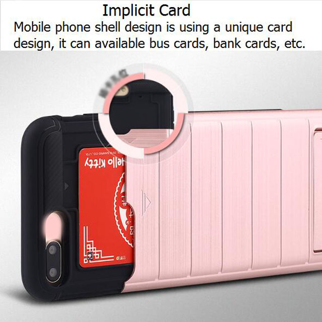 Cell Phone Plastic Cover With ID Credit Card 5 Phone Case Manufacturing