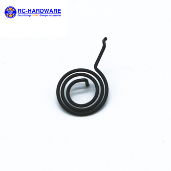 Flat Spiral Volute spring 60Si2Mn Volute Helical spring