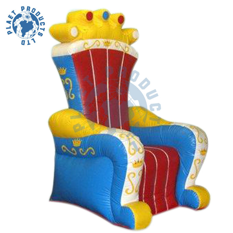 High Quality Inflatable Throne Chair (PLAD32-093)